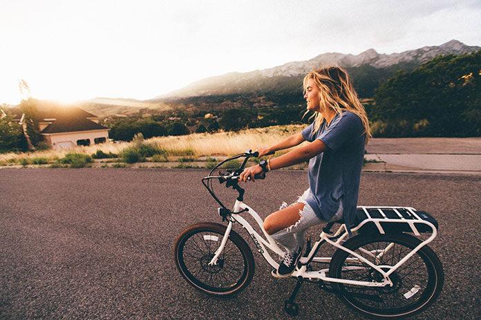 Sposób na schudnięcie - jazda na rowerze
